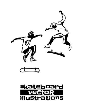 Skateboarding sports activity