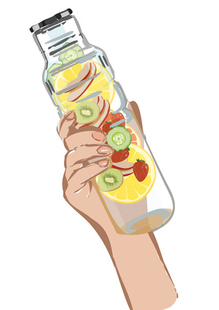 messengers: With a slice of Strawberry Detox water