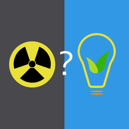 atomic: Choice between atomic power and eco-friendly source of energy
