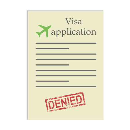Visa application with denied stamp. Getting refusal to go go travel abroad