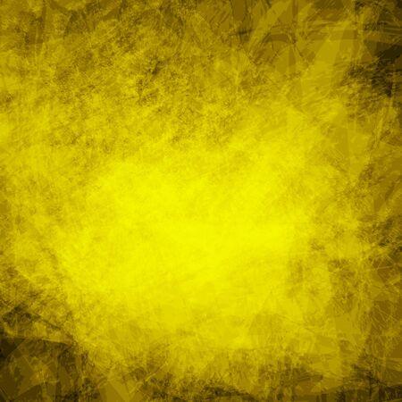 Abstract yellow dark  background