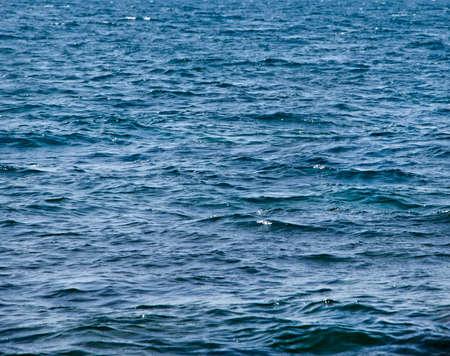 Texture of dark sea in storm weather in Crimea.Sevastopol Stock Photo