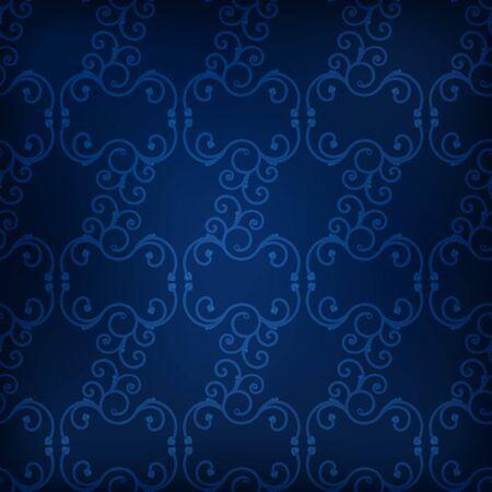 wallpapper: Abstract seamless dark blue wallpapper with swirls