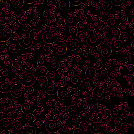 Abstract seamless background with curls Illustration