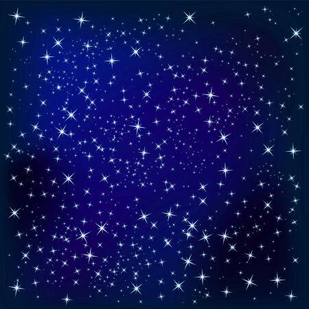 Sky with stars Stock Photo