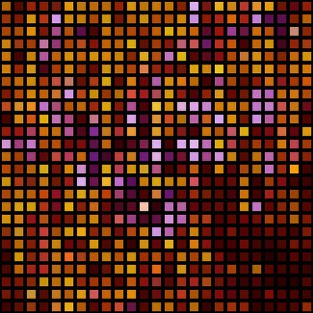 simple background of Mosaic of different colors?