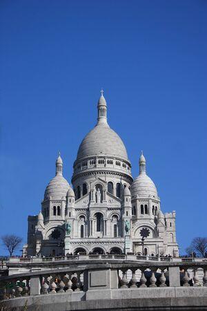 Paris-Sacré-Coeur Banque d'images - 11109485