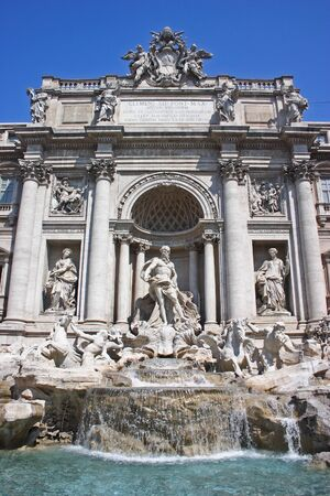 rome-trevi fountain
