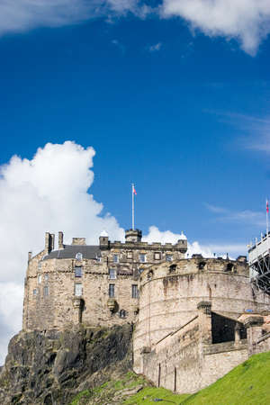 Scotland-Edinburgh castle