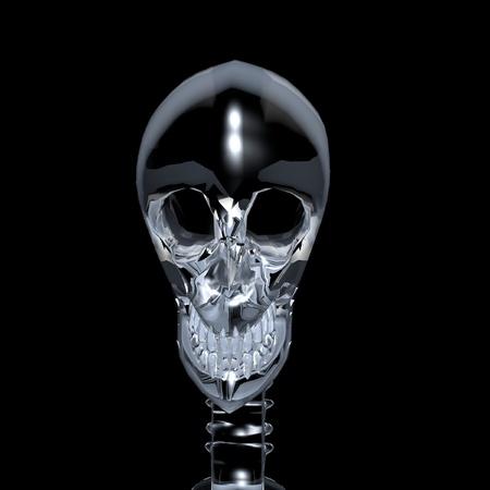 Cyborg skull Stock Photo - 11240508
