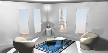 Room in Paris photo