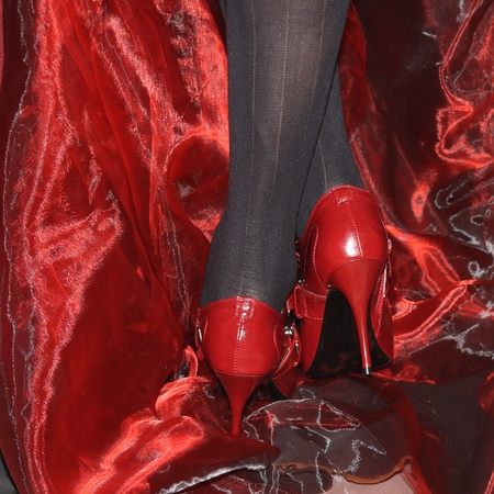Red shoes photo