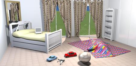 Kids bedroom Stock Photo - 11653977