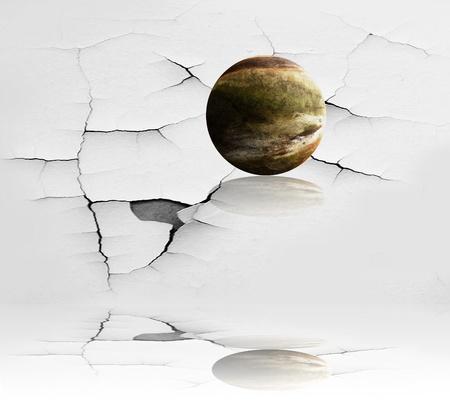 effondrement: effondrement univers Banque d'images