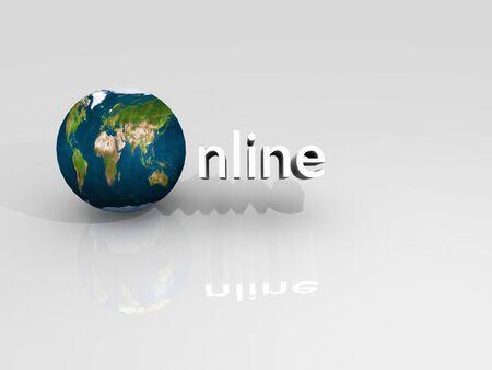 On line Stock Photo