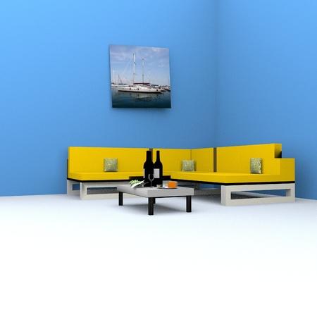 stanza: Living room Stock Photo