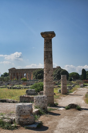 Summer in Italy-Paestum Temple