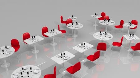 modern restaurant photo
