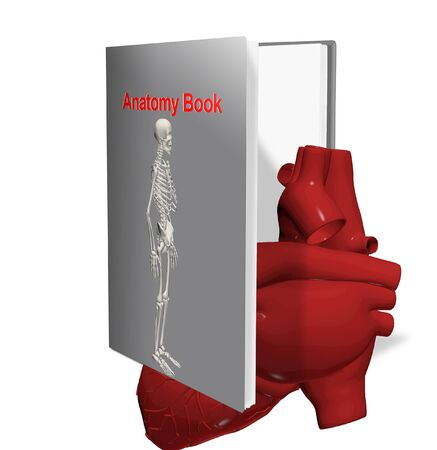 anatomy book Stock Photo - 15259137