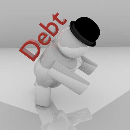 3D debt burden