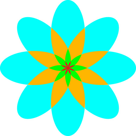 disclosure: vector floral pattern in a square in eps 10 format
