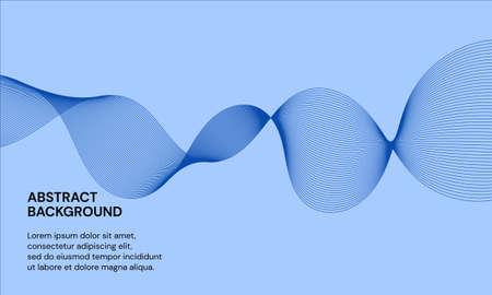 wave, curve, abstract, flow, particle, blue, energy, smoke, motion, wallpaper, design, digital, audio, background, creative, dynamic, effect, equalizer, futuristic, geometric, graphic, illusion, illus Ilustração