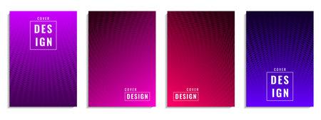 Minimal cover design. Colorful halftone dot shape. Future geometric pattern. Suitable for posters, banners, flyers, etc. Vector Illustration Vektoros illusztráció