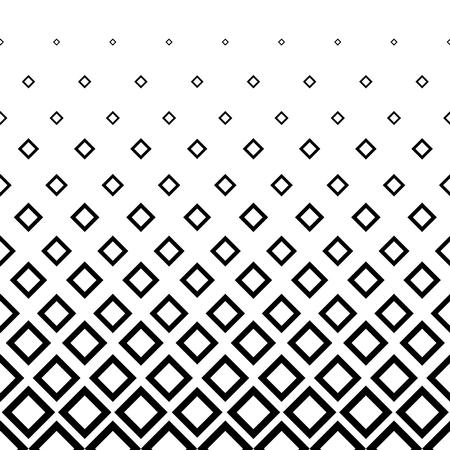 Fond de demi-teinte losange noir et blanc. Illustration vectorielle pour votre conception graphique. Vecteurs