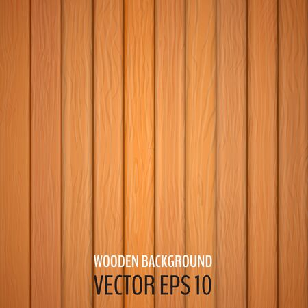 Wooden background. Vector background with vertical wooden boards. Vector illustration for your graphic design. 일러스트