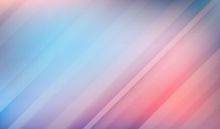 Abstract horizontal background made in cold pastel colors. Blue and pink abstract backdrop. Vector illustration for your graphic design. Ilustrace