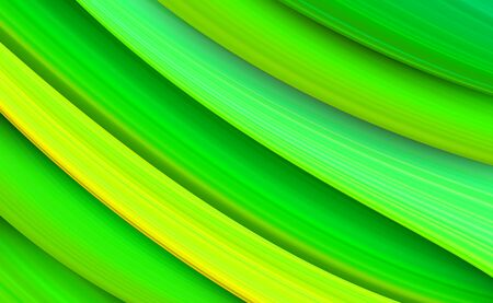 Colorful and bright abstract material design background. Textured fresh green stripes vector backdrop. Vector illustration for your graphic design.