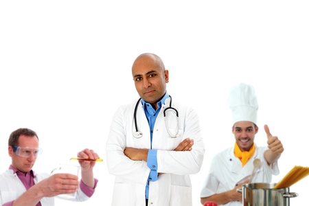 Various professions photo