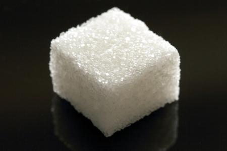 diet plan: Lump sugar closeup