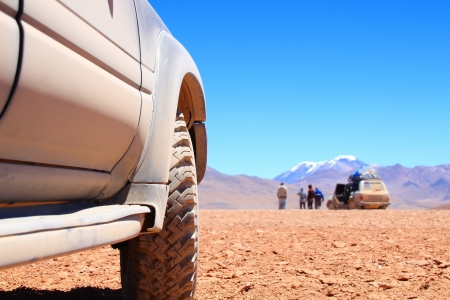4x4: Offroad SUV Tour Stock Photo