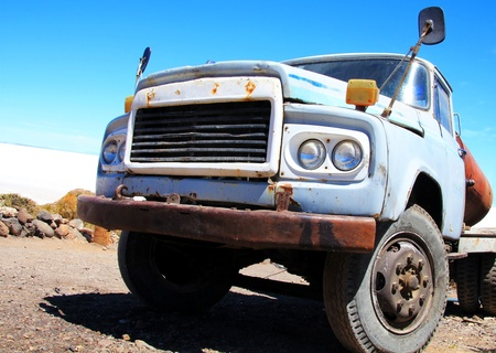 Old big truck photo