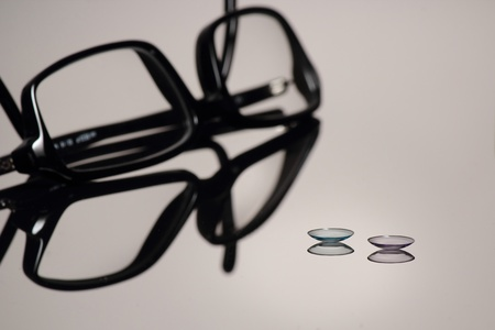 contact lenses: Contact lenses or Glasses
