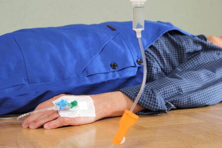 infusion: A Patient with infusion Accident at home