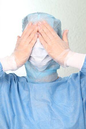 Ein Doktor vor den Augen Standard-Bild - 61356027