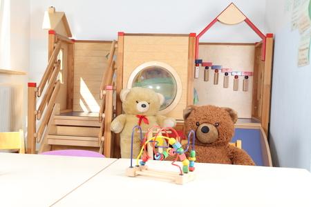 Toys in a Kindergarten
