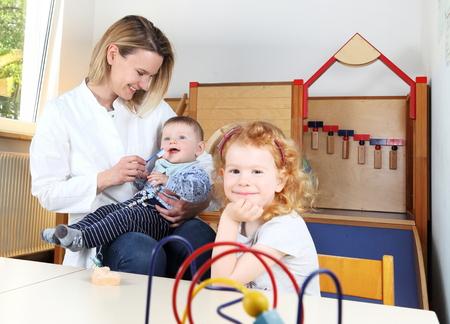 Dentist in a Kindergarten