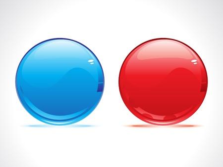 bolls: abstract glossy balls vector illustration Illustration