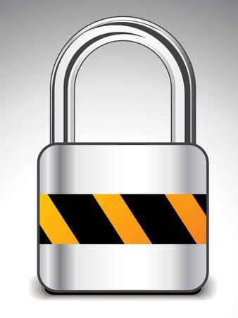 shiny buttons: abstract locker icon  vector illustration  Illustration