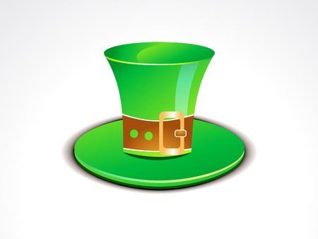 abstract green sant partick cap vector illustration Stock Vector - 12209231