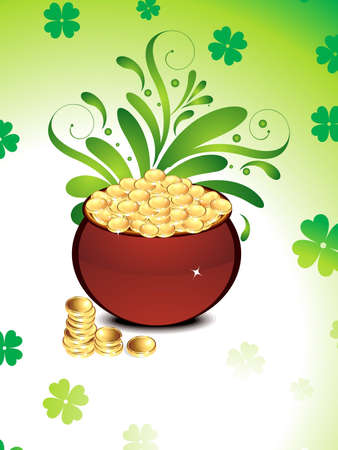 abstract st patrick Stock Vector - 12495974