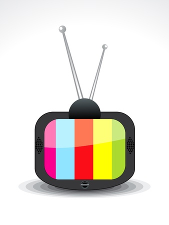 abstract television icon vector illustration  Illustration