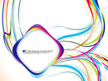 multilayered: abstract colorful background vector illustration