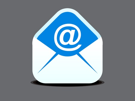 abstract mail icon vector illustration  Illustration