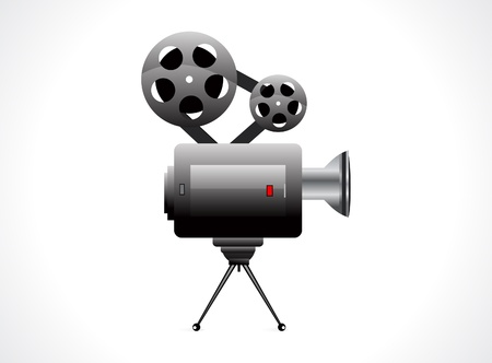abstract video camera icon illustration  Stock Vector - 13561472