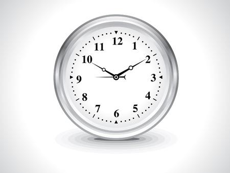 abstract wall clock vector illustration  Vector