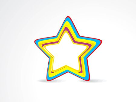 salient: abstract colorful star icon
